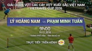 Download LÝ HOÀNG NAM VS PHẠM MINH TUẤN - CÁC CÂY VỢT XUẤT SẮC 2016 | FULL Video