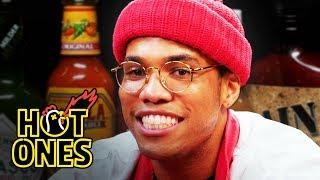 Download Anderson .Paak Sings Hot Sauce Ballads While Eating Spicy Wings | Hot Ones Video