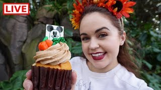 Download 🔴 LIVE: Trying the Limited-Edition Halloween Treats at Walt Disney World! 🍂🎃🎂 Video