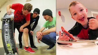Download ADIML 60: BIZARRE SKATE INJURY! Fingerboard & Karate! Video