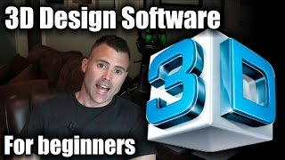 Download 3D Design Software for beginners - How to get started Video
