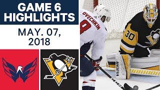 Download NHL Highlights | Capitals vs. Penguins, Game 6 - May 07, 2018 Video