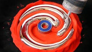 Download DIY Spiral Gallium Fidget Spinner Video