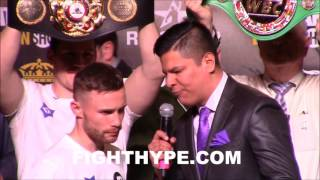 Download CARL FRAMPTON'S FINAL WORDS FOR LEO SANTA CRUZ: ″EXPECT MORE OF THE SAME...AN OUTSTANDING FIGHT″ Video