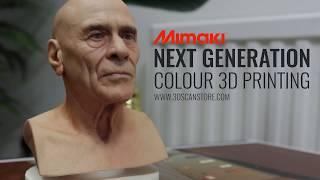 Download Next Generation colour 3D prints by Mimaki Video