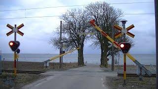 Download Spoorwegovergang Svarte (S) // Railroad crossing // Järnvägsövergång Video