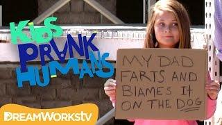 Download Funny Shame Sign Prank | KIDS PRANK HUMANS Video