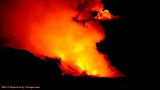 Download 9-12-16 Hawaii Lava Flow 61g - Kamokuna - Nikon D800 - 57 Min Version Video