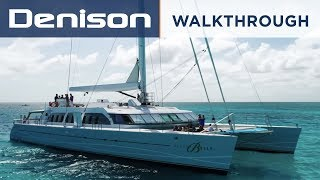Download NECKER BELLE: 105' Catamaran [Walkthrough] Video