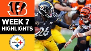 Download Bengals vs. Steelers | NFL Week 7 Game Highlights Video