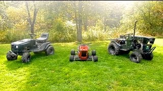 Download 3 Custom Lawn Mowers Video