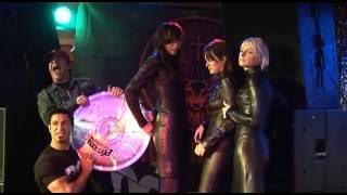 Download 3 Girls In Black Leather Boots And Dresses Video