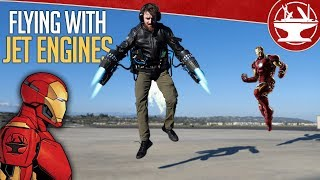 Download Learning to Fly Like IRON MAN! Video