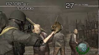 Download Resident Evil 4 - The Mercenaries (Welcome To Hell) Mode - Village - HUNK (699.000) HQ Video