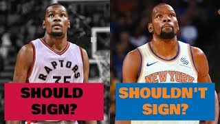 Download 5 Teams Kevin Durant Should DEFINITELY Sign With in 2019... and 5 Teams He MUST Stay Away From! Video