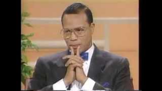 Download Minister Louis Farrakhan handles the Donahue audience! Video