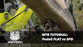 Download MTB - pedali FLAT o CLIPLESS? Video