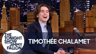 Download Timothée Chalamet Broke His Only Rule for The Tonight Show Video