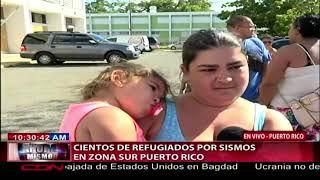 Download Cientos de refugiados por sismos en zona sur de Puerto Rico Video