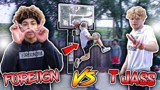 Download CRAZY GAME OF MINI HOOP ″D.U.N.K″ vs TRISTAN JASS!!😱🔥 *HILARIOUS*🤣 Video