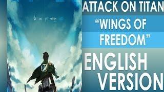 Download Jiyuu no tsubasa (Wings of Freedom) ENGLISH VERSION - MELIFIRY - Attack on Titan opening 2 Video