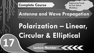 Download Polarization - linear, Circular & Elliptical Polarization, Antenna Parameters by Engineering Funda Video