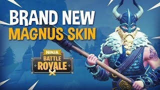 Download BRAND NEW Magnus Skin!! - Fortnite Battle Royale Gameplay - Ninja & KingRichard Video