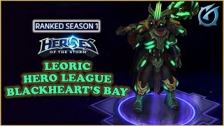 Download Grubby | Heroes of the Storm | Leoric - Hero League - Season 1 - Blackheart's Bay Video