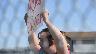 Download Columbine High School students walkout to protest gun violence Video