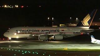 Download STUNNING Night Flights | Melbourne Airport Plane Spotting Video