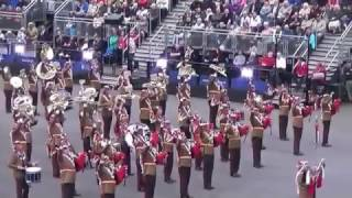 Download The Royal Jordanian Armed Forces Band and Drill Team, The Royal Edinburgh Military Tattoo (part 8) Video