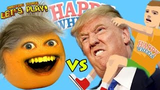 Download Annoying Orange Plays - HAPPY WHEELS: Donald Trump Video