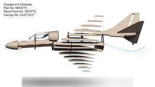 Download Douglas A-4 Skyhawk PSS RC Model Plan Video