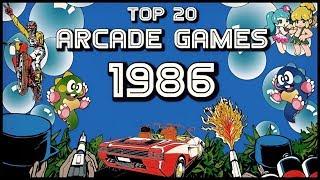 Download TOP 20 ARCADE GAMES DEL AÑO 1986   TROldSchoolGamer Collection Video