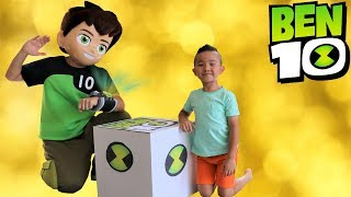 Download NEW BEN 10 Toys Collection Delivered By Ben 10 Himself To Ckn Toys Video