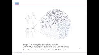 Download Single cell analysis: overview, challenges, solutions and case studies Video