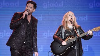 Download Melissa Etheridge and Adam Lambert perform ″I'm The Only One″ | 29th Annual GLAAD Media Awards Video