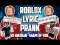 Download Ed Sheeran - Shape of You | ROBLOX Lyric Prank Video