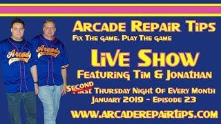 Download Arcade Repair Tips - Live Show - Episode 23 Video