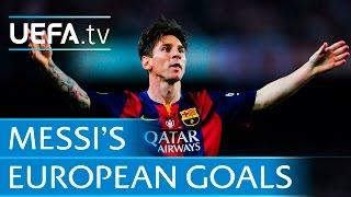 Download Lionel Messi - 86 European goals Video