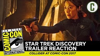 Download Star Trek: Discovery Comic-Con Trailer Reaction & Review - SDCC 2017 Video