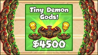 Download THE NEW POWERFUL TINY DEMON GODS UPGRADE - NEW TOWER | Bloons TD Battles Hack/Mod (BTD Battles) Video