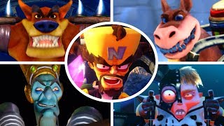 Download Crash Bandicoot N. Sane Trilogy - All Bosses (No Damage) Video