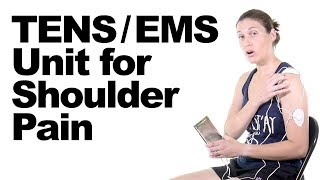 Download How to Use a TENS / EMS Unit for Shoulder Pain Relief - Ask Doctor Jo Video