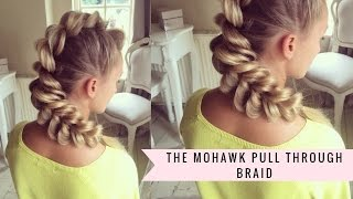 Download Mohawk Pull-Through Braid by SweetHearts Hair Video
