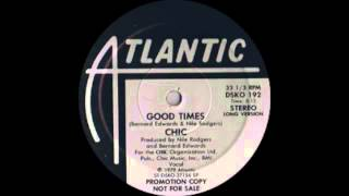 Download Chic - Good Times (Atlantic Records 1979) Video