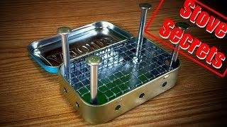 Download How To Make A Mini Wood Stove - Easy & Effective! Video