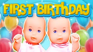 Download Barbie - The Twin's First Birthday | Ep.47 Video