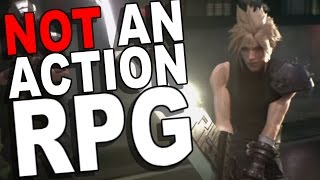 Download Proof the Final Fantasy VII Remake is a Hybrid RPG Video