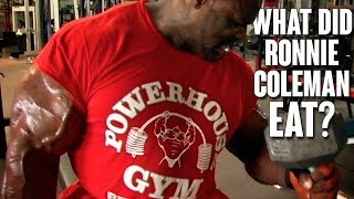 Download What Does Ronnie Coleman Eat in 1 Day? | Remastered 1080 HD Video